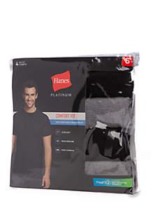 4-Pack Modal Crew Undershirts