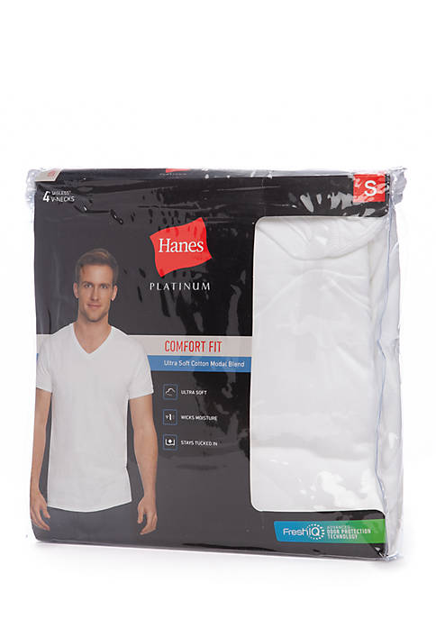 Hanes® Platinum Comfort Fit Ultra Soft Modal Tagless®