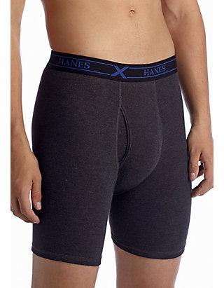 44cbc3647e32 Hanes® 4-Pack Platinum X-Temp™ Long Leg Boxer Briefs   belk