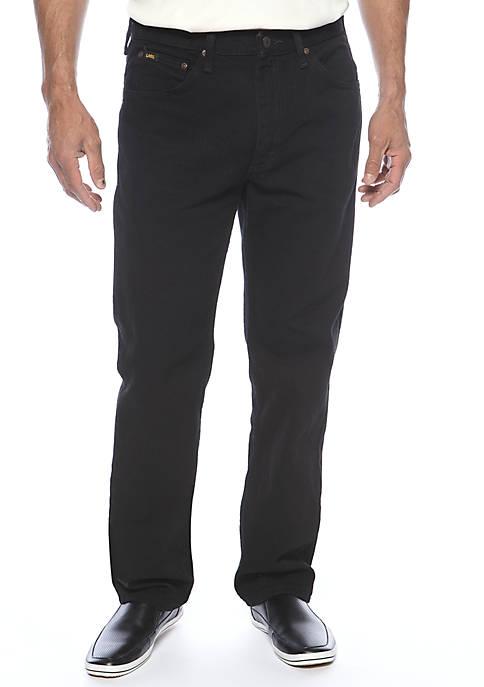 Regular-Fit Straight Leg Jeans