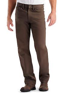 Lee® Regular-Fit Straight Leg Jeans
