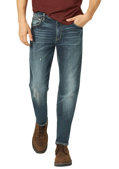 Lee® Mens Lawson Regular Fit Slim Tapered Jeans