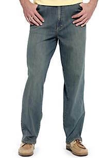 Lee® Big & Tall Loose Comfort Straight Leg Jeans