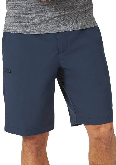 Lee® Mens Tri Flex Flat Front Cargo Shorts
