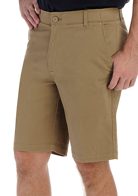 Lee® Big & Tall Extreme Comfort Flat-Front Shorts