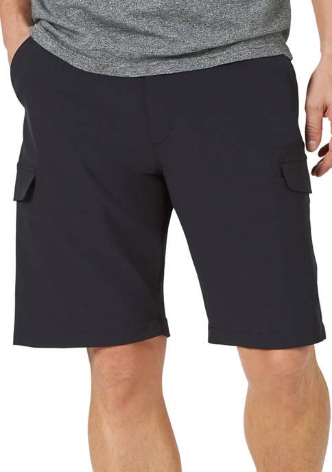 Big & Tall Tri Flex Flat Front Cargo Shorts