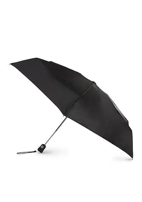 Totes Travel Auto Open Auto Close Umbrella