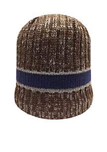 Woodlands by Isotoner Marled Stripe Beanie Hat