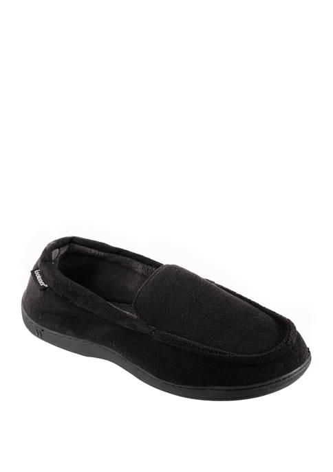 Acorn isotoner Microterry Moccasins with Memory Foam