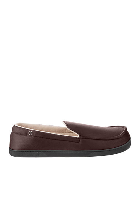isotoner Microsuede Moccasin Slippers