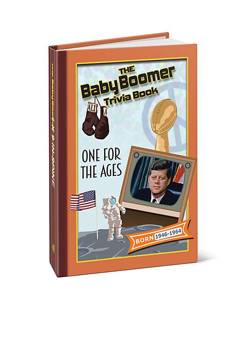 Red-Letter Press, Inc. Baby Boomer Trivia Book | belk