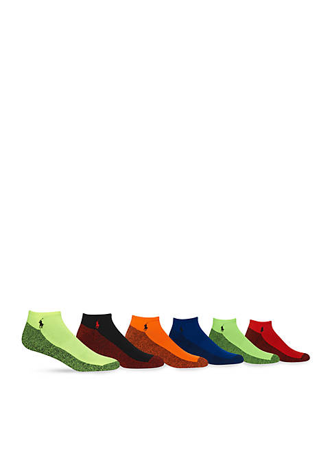 Polo Ralph Lauren 6PK Athletic Neon Marled Low