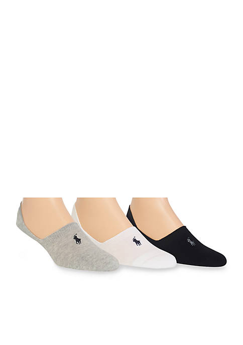 Polo Ralph Lauren 3-Pack Sneaker Liner