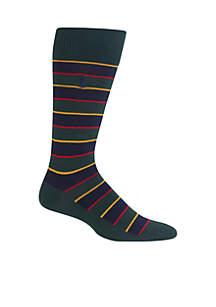 Men's Hunter Regimental Stripes Trouser Socks