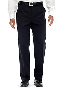 Classic Fit Work To Weekend™ Flat Front Wrinkle-Free Pants