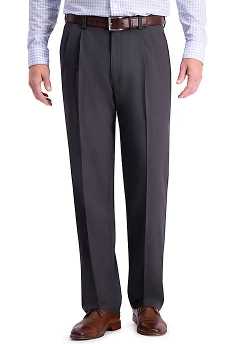 Haggar® Cool 18 PRO Classic Fit Pleat Pants