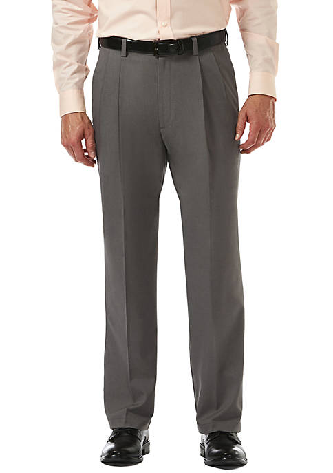Haggar® Cool 18 PRO Classic Fit Pleat Pants