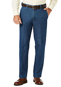 Haggar® Stretch Denim Trouser