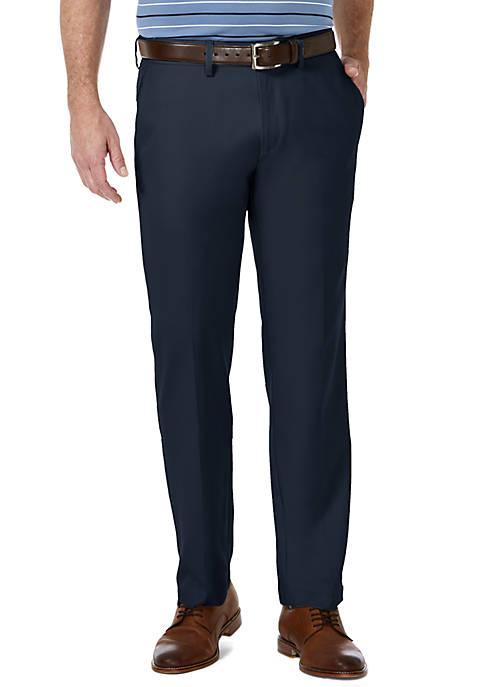 Haggar® Mens Cool 18 PRO Straight Fit Flat