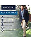 Cool 18 PRO Slim Fit Flat Front Pants