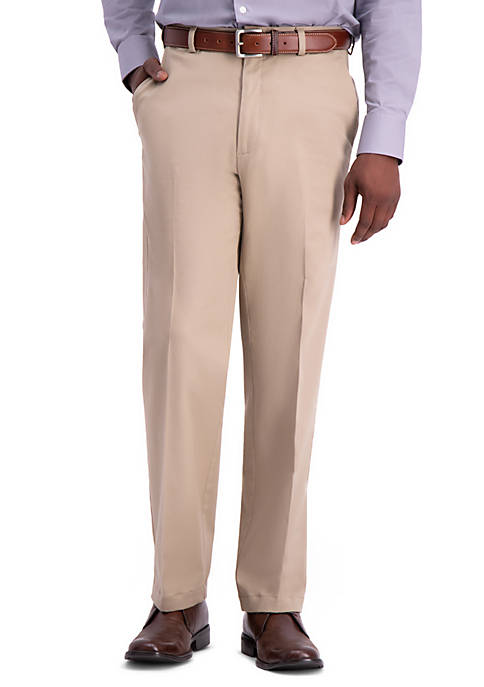 Work To Weekend PRO Relaxed Fit Flat Front Casual Pants