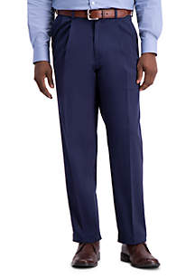 Haggar® Work To Weekend PRO Classic Fit Relaxed Fit Pleat Front Casual Pants