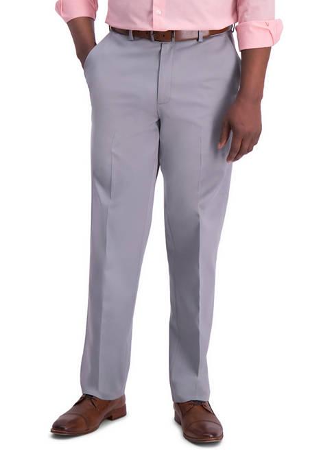 Haggar® Mens Iron Free Premium Khaki Classic Fit