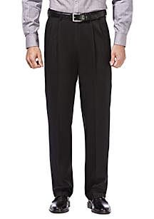 Haggar® Premium Stretch Classic Fit Pleated Pants