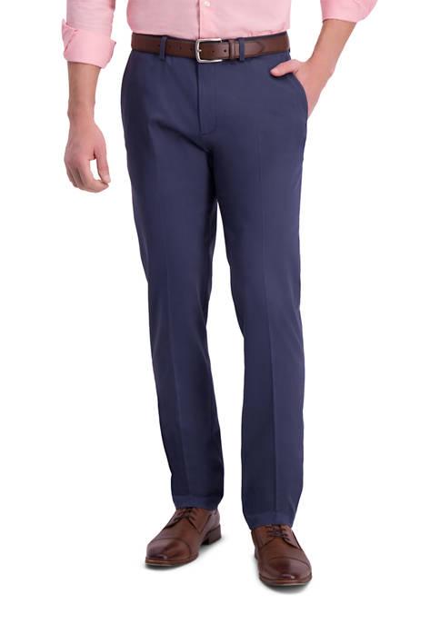 Haggar® Mens Iron Free Premium Khaki Slim Straight
