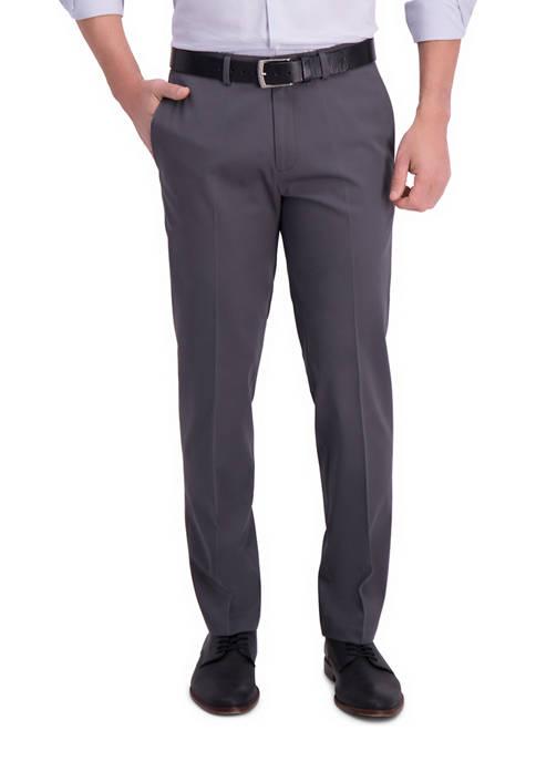 Haggar® Mens Iron Free Premium Khaki Straight Fit