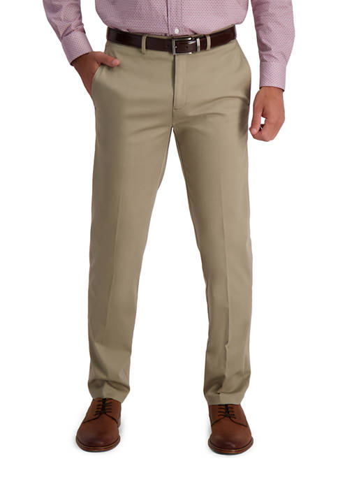 Haggar® Mens Iron Free Premium Khaki Straight Fit