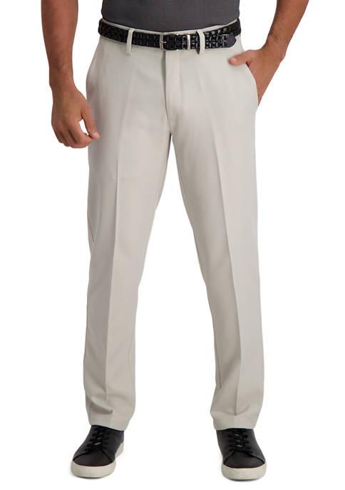 Haggar® Slim Fit Premium Flex Waistband Flat Front