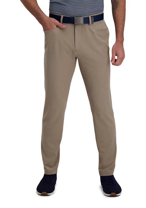 The Active Series™ Slim Fit Flat Front 5-Pocket Tech Pants