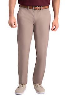 Haggar® Premium Comfort Slim Fit Flat Front Khaki Pants