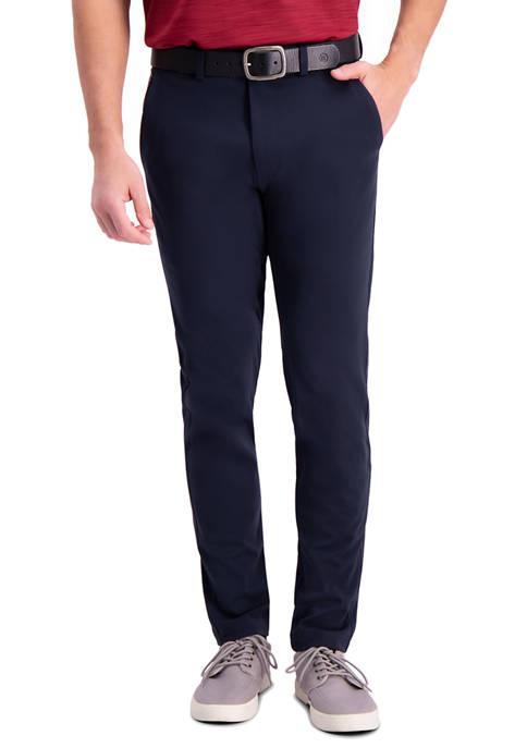 Haggar® Mens Active Series Slim Fit Flat Front