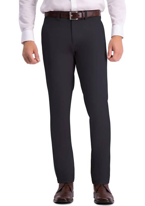 Haggar® Mens Premium Comfort Slim Fit Flat Front
