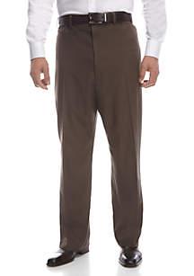 5cbb883d8b2 ... Haggar® Big   Tall Cool 18 PRO Classic Fit Flat Front Pants