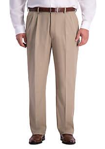 Haggar® Big & Tall Haggar® Cool 18 PRO Classic Fit Pleated Pants