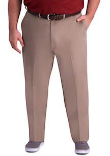 Haggar® Big & Tall Premium Comfort Classic Fit Flat Front Khaki Pants