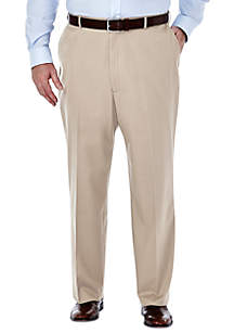 Big & Tall Premium Non-Iron Classic-Fit Flat-Front Pants