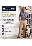 Big & Tall Premium No Iron Classic Fit Flat Front Pants