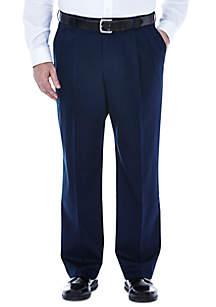 Haggar® Big & Tall Premium Non Iron Classic Fit Pleat Pants