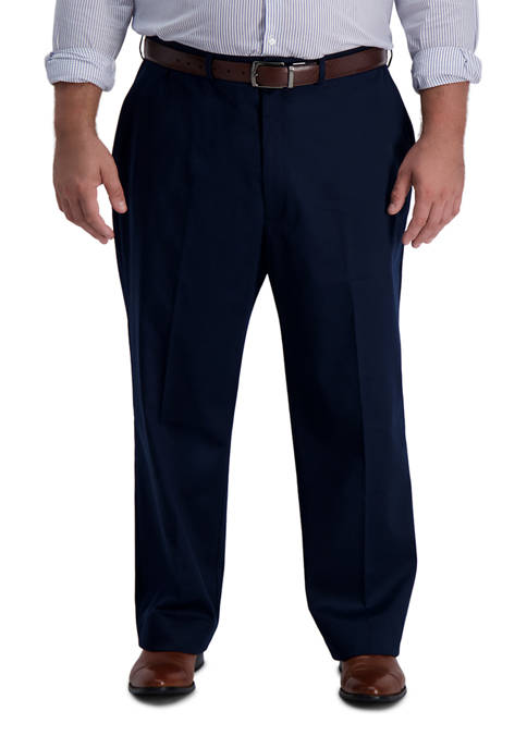 Haggar® Big & Tall Iron Free Premium Khaki