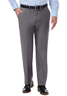 Haggar® Premium Comfort Fit Flat Front Dress Pants