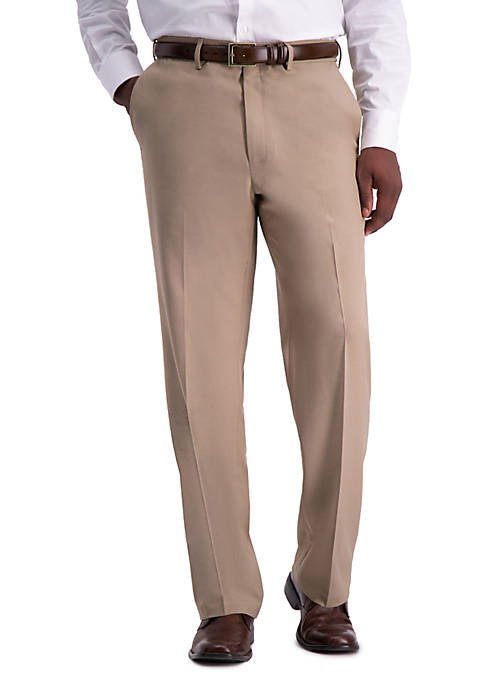 Haggar® Premium Comfort Fit Flat Front Dress Pants