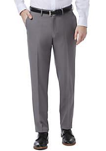 Kenneth Cole Reaction Premium Comfort 4-Way Stretch Slim Fit Flat Front Dress Pants