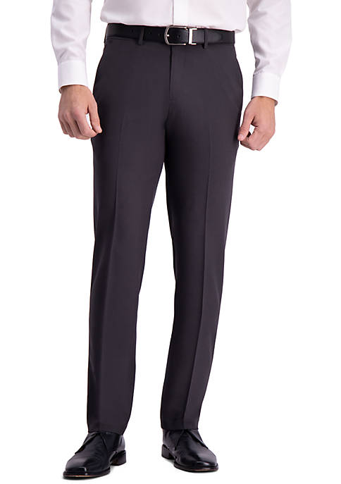 Active Series Straight Fit Flat Front Dress Pants