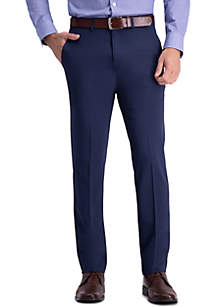 Haggar® Active Series Straight Fit Flat Front Dress Pants