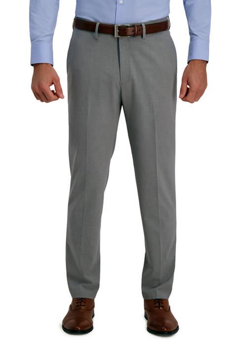 Haggar® Mens Solid 4 Way Stretch Slim Fit