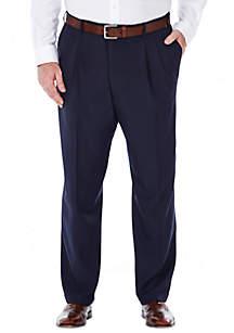 Big & Tall eCLo™ Stria Classic-Fit Pleated Dress Pants